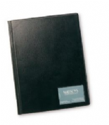 Rapesco A4 Hardbacked Display Book - 36 Clear Pockets - Black